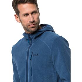 Jack Wolfskin Skywind Veste à capuche Homme, indigo blue